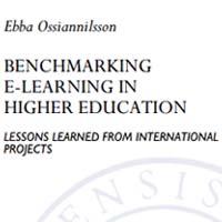 Ny avhandling – Benchmarking e-learning in higher education