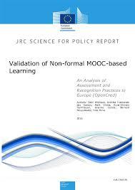 Validering av informellt MOOC-baserat lärande