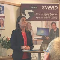 SVERDs Höstkonferens fokuserade på digitalisering och flexibelt lärande (se bildspel)
