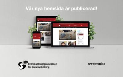 Välkomna till SVERDs nya hemsida