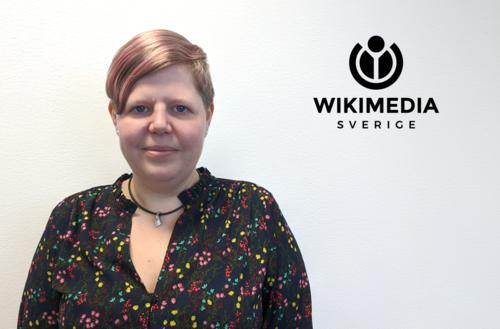 Talare vid SVERDs höstkonferens: Josefine Hellroth Larsson, Wikimedia Sverige