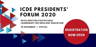 ICDE President Forum 2020