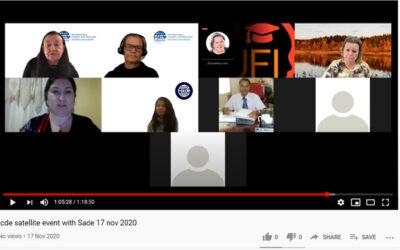 ICDE Satellite Event med SVERD om ledarskap och online lärande