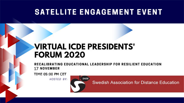 ICDE Satellite Engagement Event with SADE