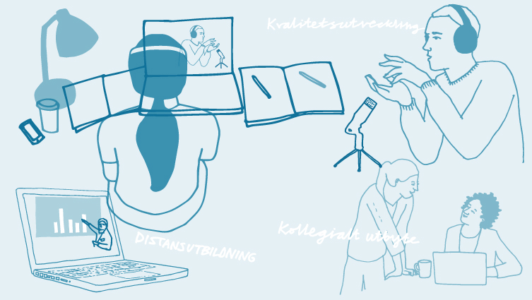Regeringsuppdrag för att höja kvalitet och genomströmning i distansutbildning vid svenska lärosäten