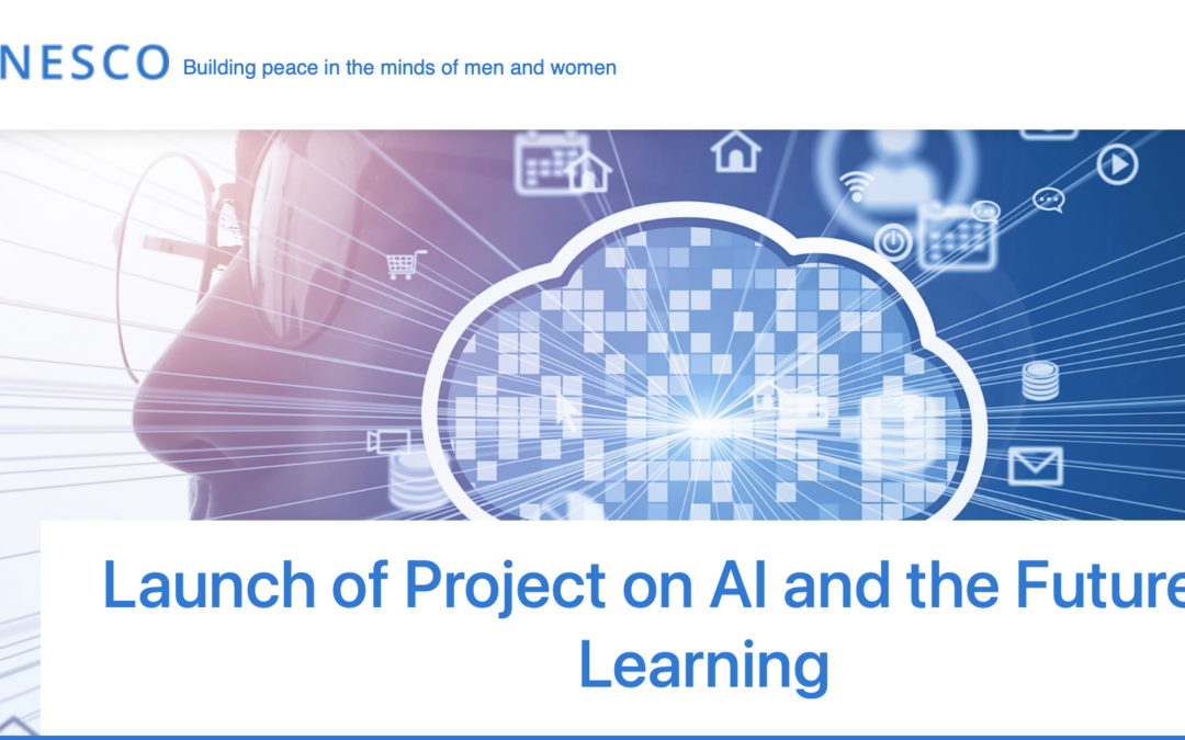 UNESCO – Project on AI and the Futures of Learning